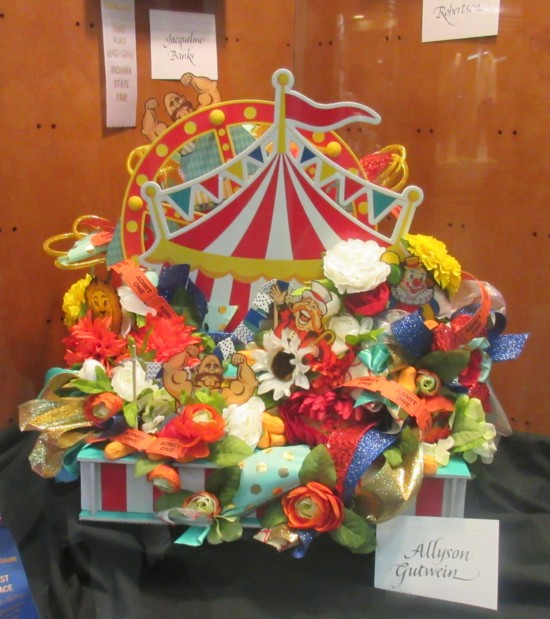 circus flower arrangement!