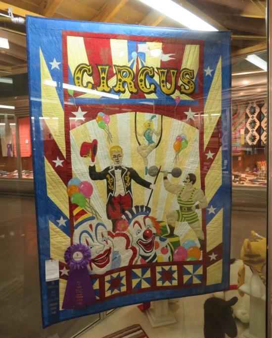 circus quilt!