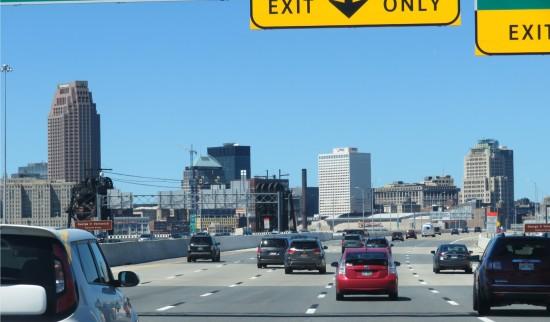 Cleveland traffic!