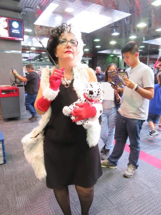 Cruella DeVil!