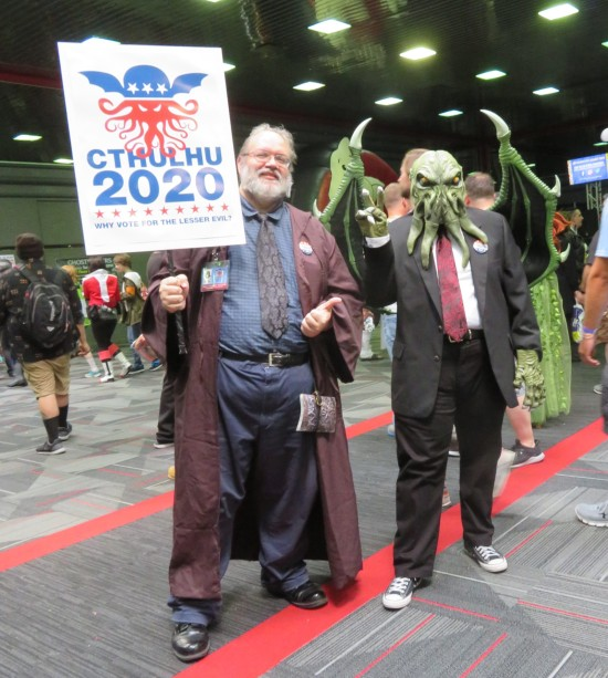 Cthulhu and campaign manager!
