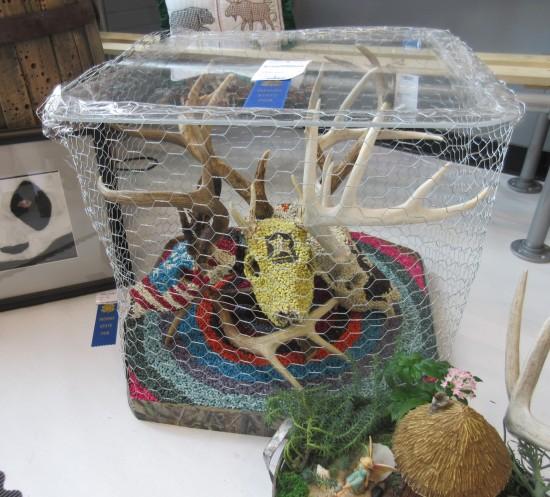 deer skull art!