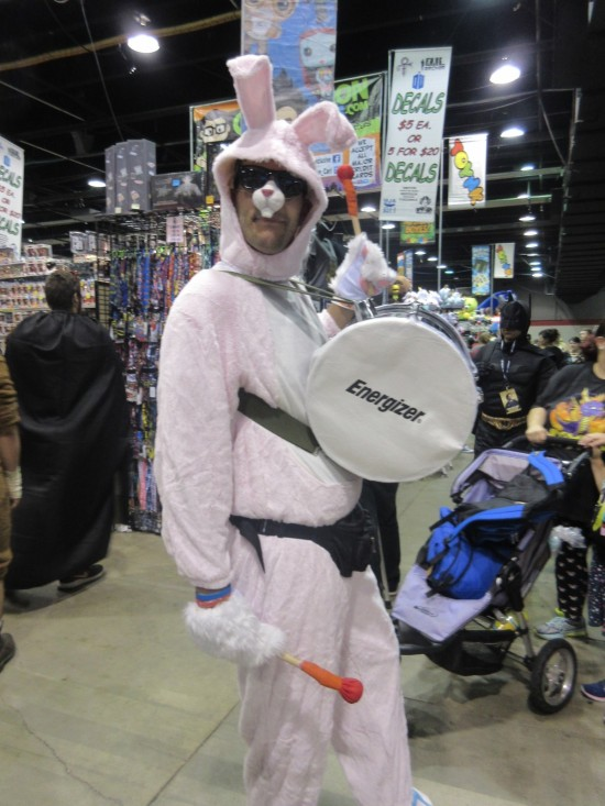 Energizer Bunny!