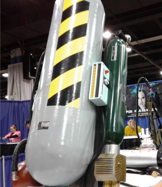 Ghostbusting equipment!