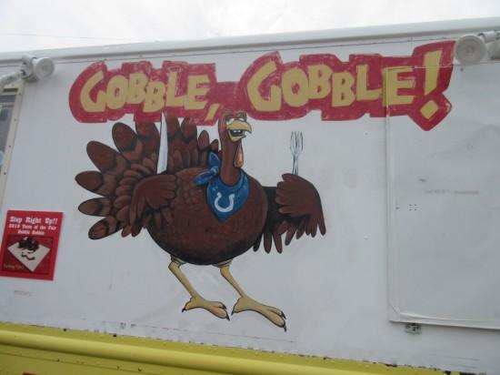 Gobble Gobble truck!
