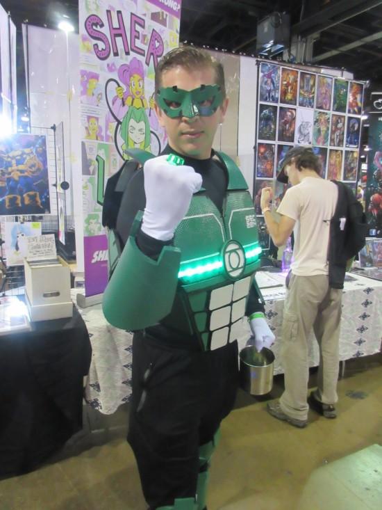 Green Lantern!