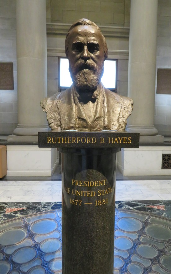Hayes bust!