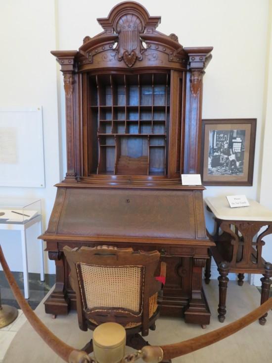 Hayes desk!
