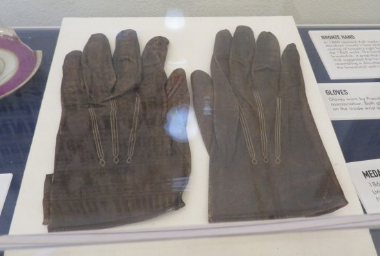 Lincoln gloves!
