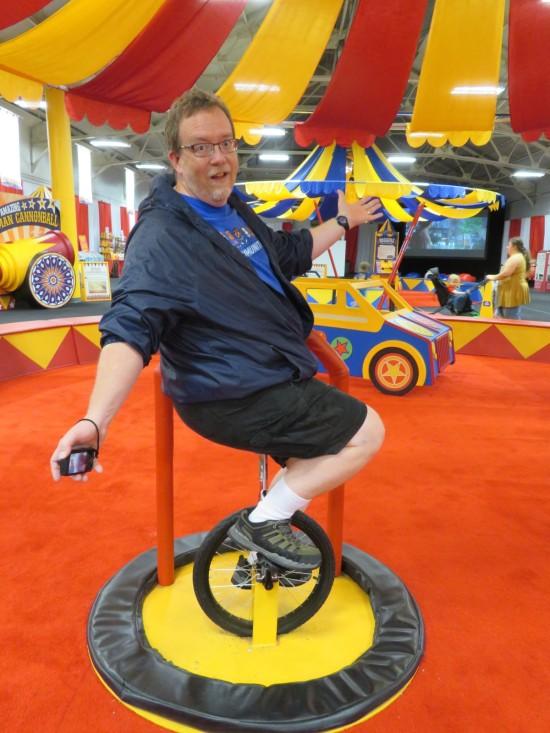 me on unicycle!