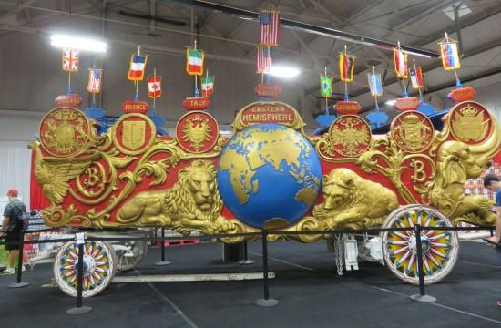parade wagon!