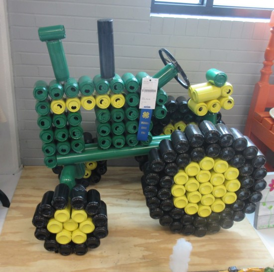 pop can tractor!