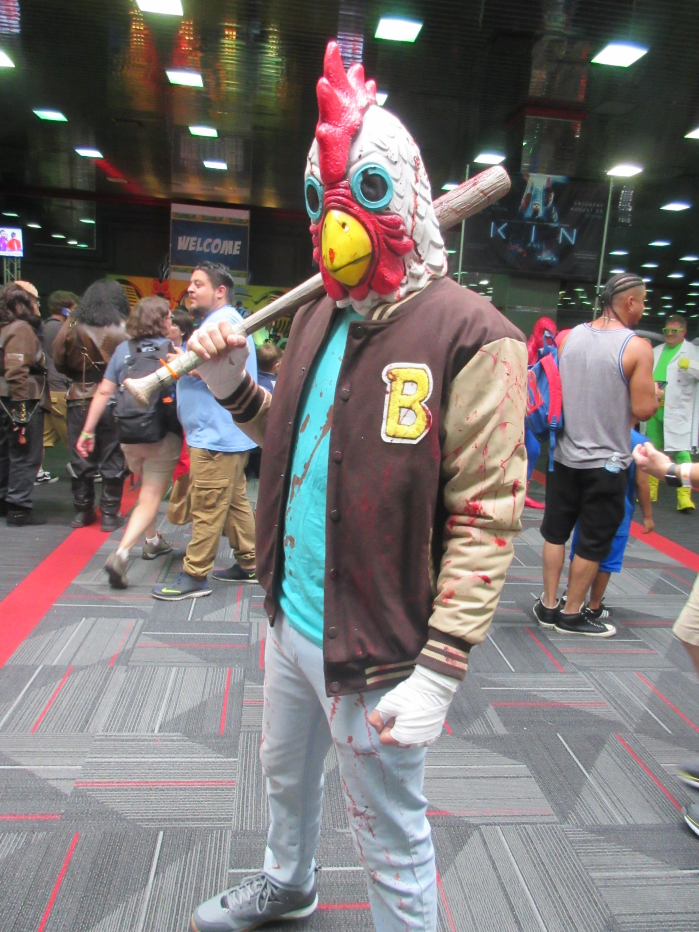 Richard from Hotline Miami!