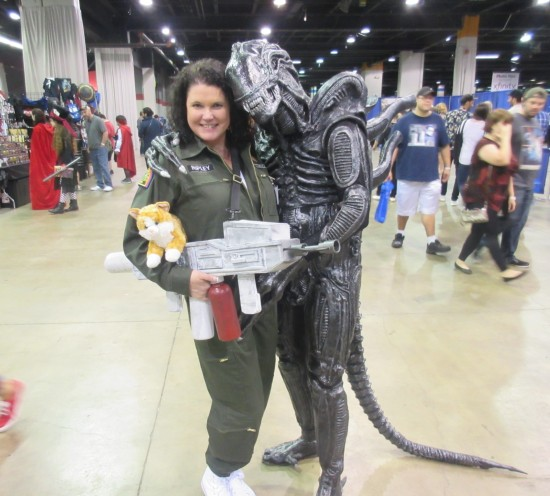 Ripley and Alien!