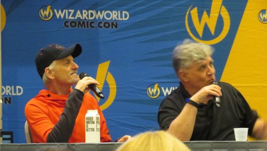 Rob Paulsen and Maurice LaMarche!