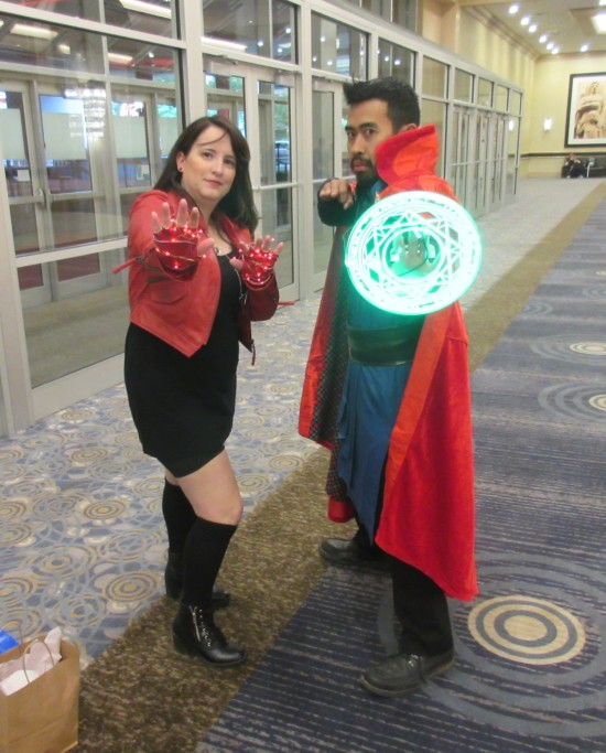 Scarlet Witch and Dr. Strange!