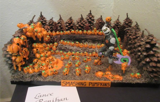 Smashing Pumpkins!