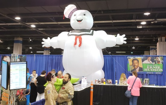 Stay Puft and booths!
