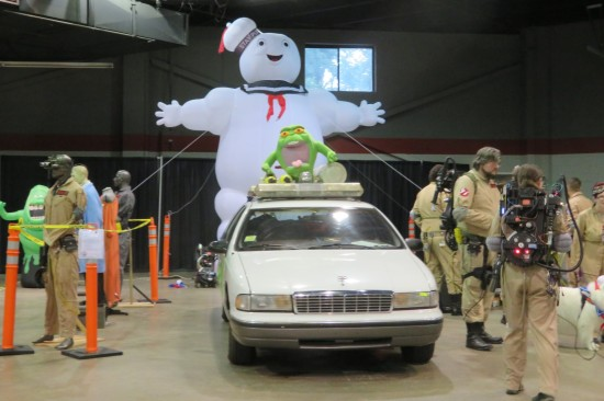 Stay Puft and ECTO-1!