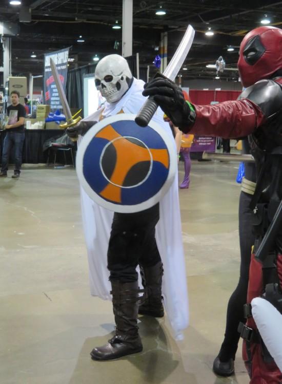 Taskmaster and Deadpool!