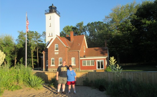 us and lighthouse!