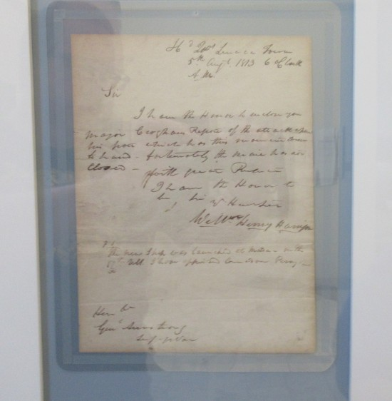 William Henry Harrison autograph!