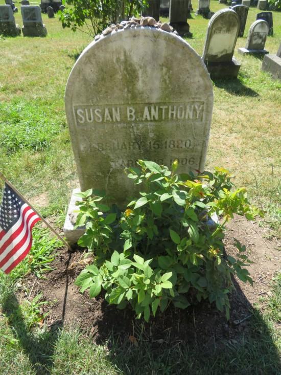 Anthony's grave.