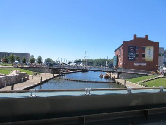 bridge over canal!
