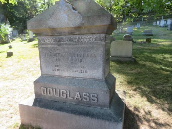 Douglass headstone.