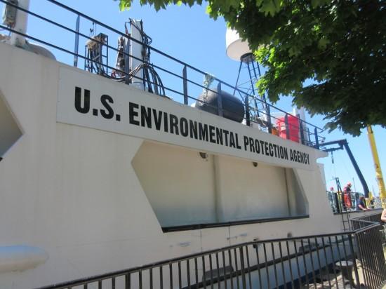 EPA boat!