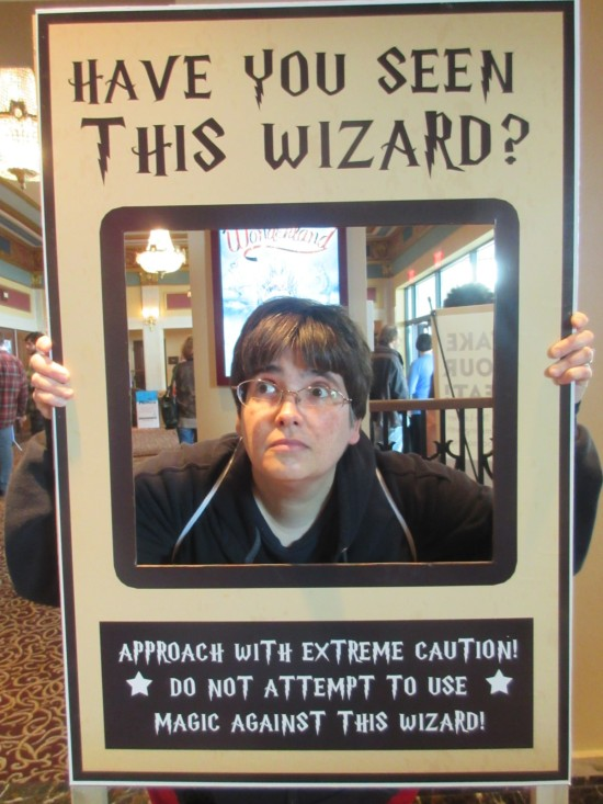 Have You Seen This Wizard!