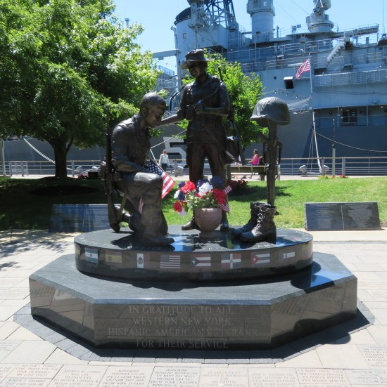 Hispanic American veterans.