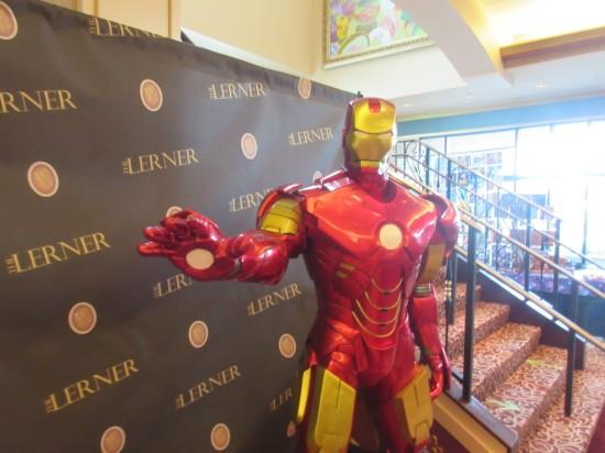 Iron Man statue!