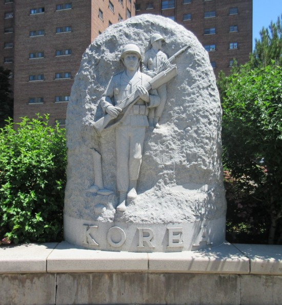 Korea memorial.
