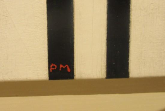 Mondrian initials!