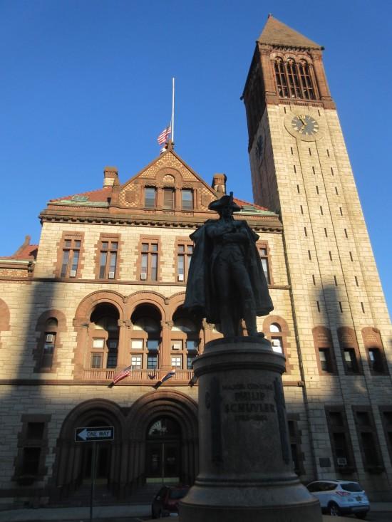 Philip Schuyler and City Hall!