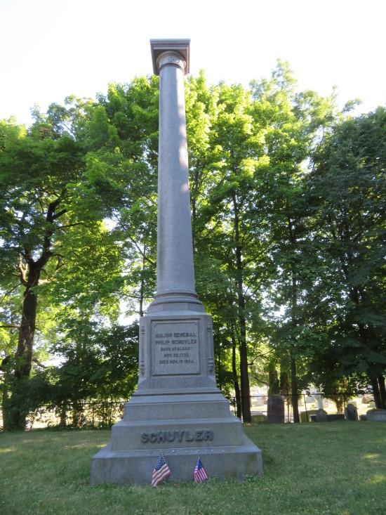 Schuyler gravestone!