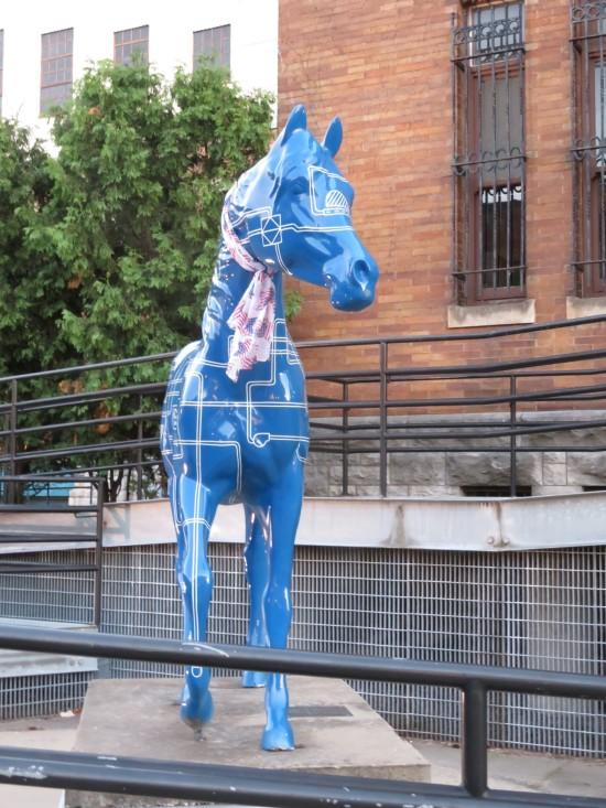 sci-museum horse!