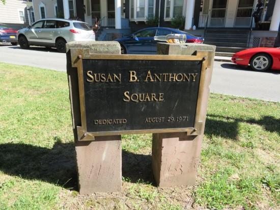 Susan B. Anthony Square!
