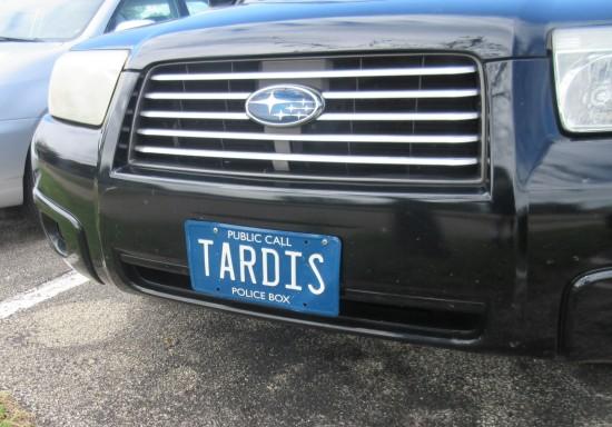 TARDIS plate!