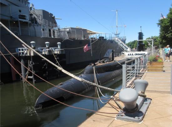 USS Croaker!
