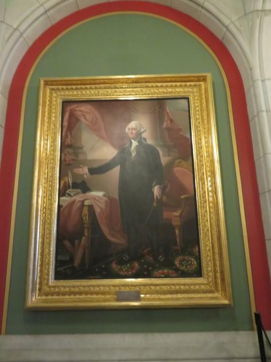 Washington painting!