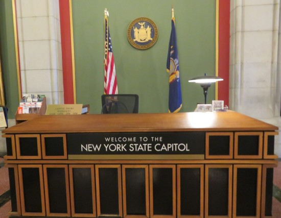 Welcome to the New York State Capitol!
