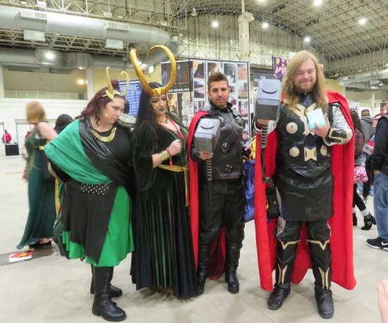 2 Loki 2 Thor.
