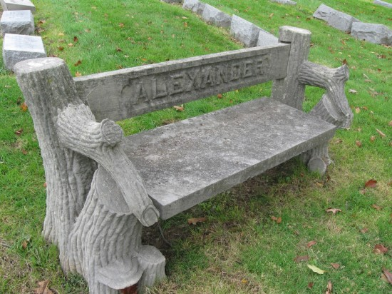 Alexander bench!