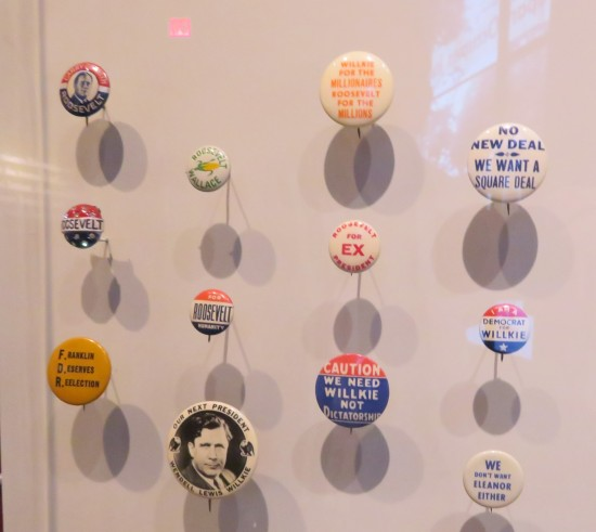 anti-FDR campaign buttons!