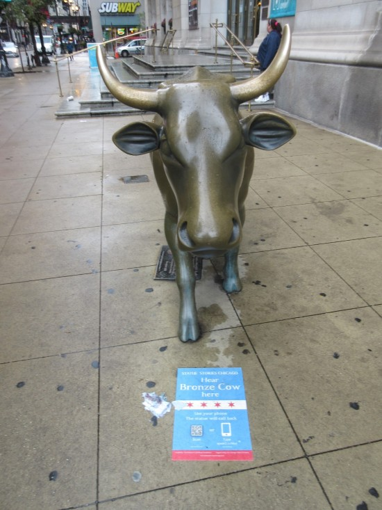 Bronze Cow!
