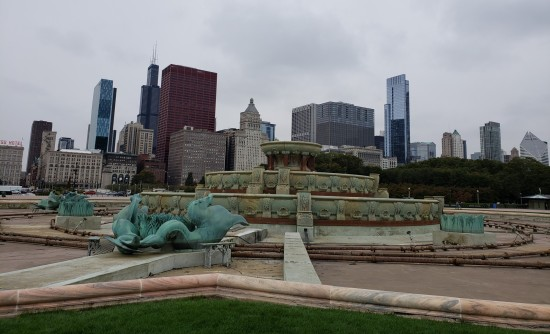 Buckingham Fountain!