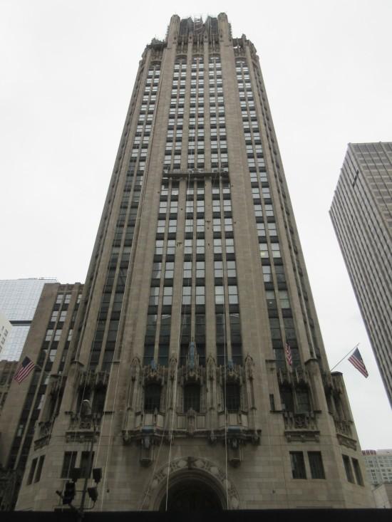 Tribune Tower!