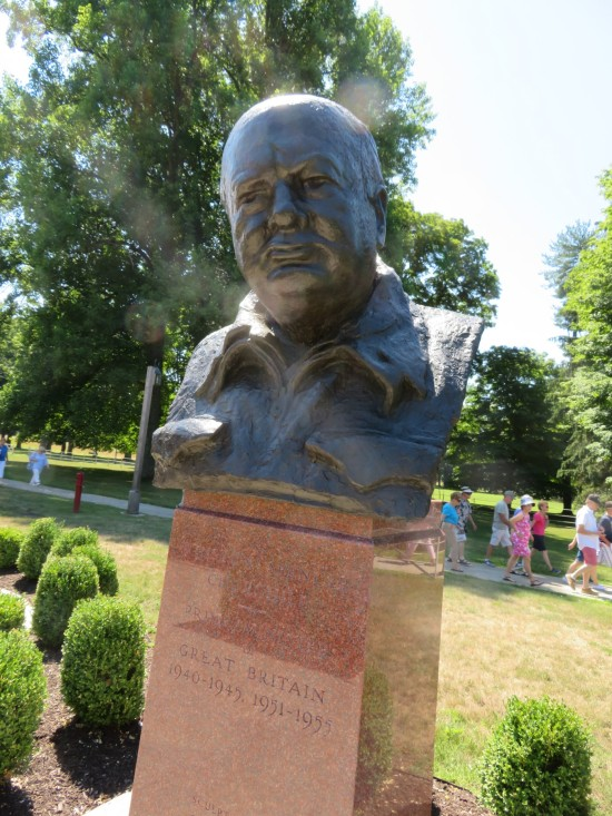 Churchill bust!